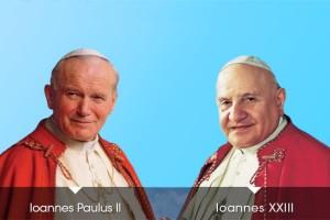 San Juan Pablo II y San Juan XXIII
